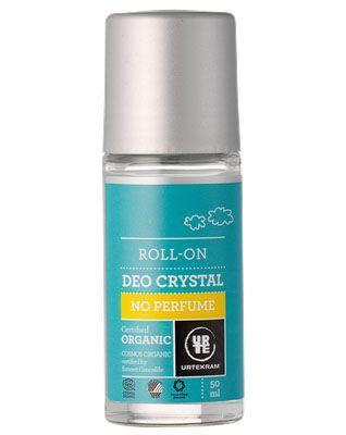 Urtekram - Deodorant Crystal Roll On: No Perfume (tht: 09-2019)