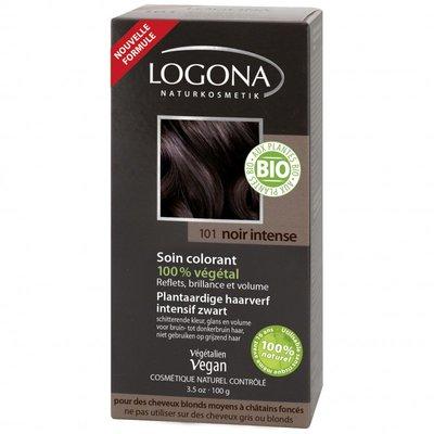 Logona - Haarverf Intens Zwart 101 (nieuwe verpakking)