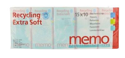 Memo - Zakdoekjes Recycling Extra Soft