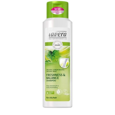 Lavera - Freshness & Balance Shampoo: Organic Lemon Balm & Organic Mint