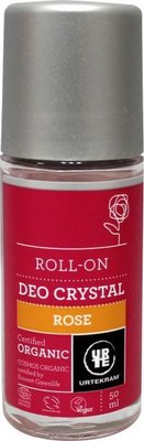 Urtekram - Deodorant Crystal Roll On Rose