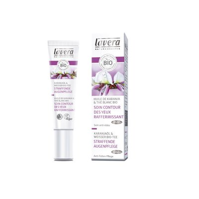 Lavera - Firming Eye Cream: Karanja Oil & Organic White Tea