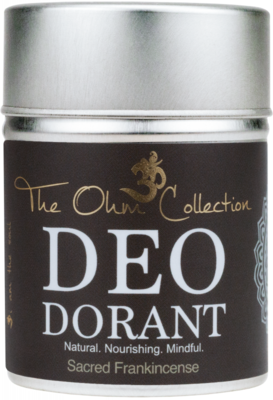 The Ohm Collection - DEOdorant Poeder Sacred Frankincense 120 gr.