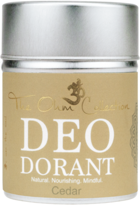 The Ohm Collection - DEOdorant Poeder Cedar
