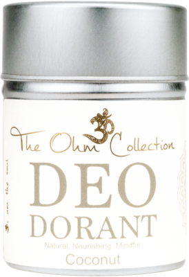 The Ohm Collection - DEOdorant Poeder Coconut 120 gr.
