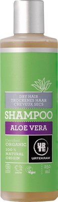 Urtekram - Aloë Vera Shampoo Droog Haar 250 ml (tht: 08-2020)