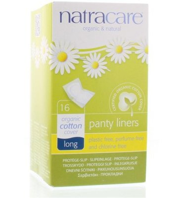 Natracare - Inlegkruisjes Long /  Pantyliners