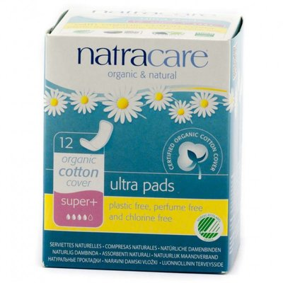 Natracare - Maandverband Super Plus  / Natural Ultra Pads Super
