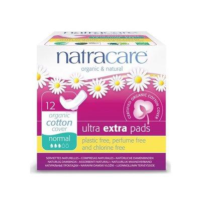 Natracare - Maandverband Ultra Extra Normaal Met Vleugels / Ultra Extra Pads