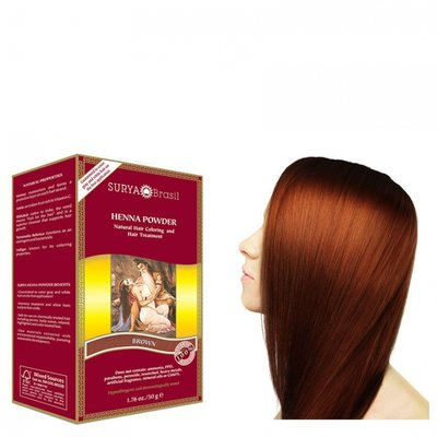 Surya Brasil - Henna Haarkleuring: Powder Brown