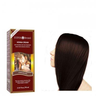 Surya Brasil - Henna Haarkleuring: Cream Chocolate