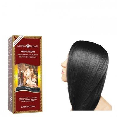 Surya Brasil - Henna Haarkleuring: Cream Black