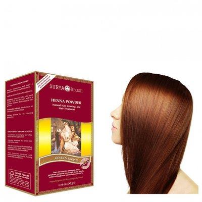 Surya Brasil - Henna Haarkleuring: Powder Golden Brown
