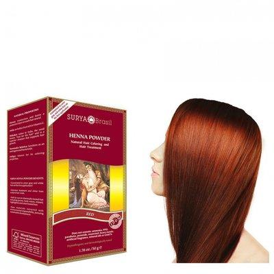Surya Brasil - Henna Haarkleuring: Powder Red