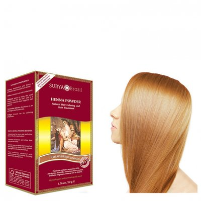Surya Brasil - Henna Haarkleuring: Powder Strawberry Blonde