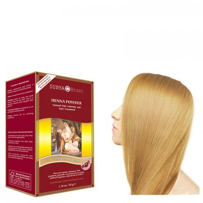 Surya Brasil - Henna Haarkleuring: Powder Swedish Blonde