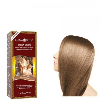 Surya Brasil - Henna Haarkleuring: Cream Ash Blonde