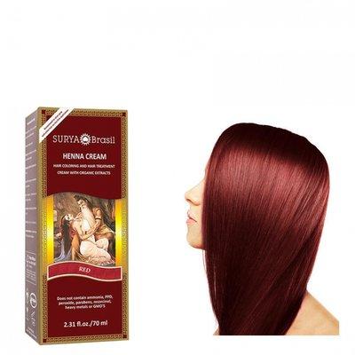 Surya Brasil - Henna Haarkleuring: Cream Red