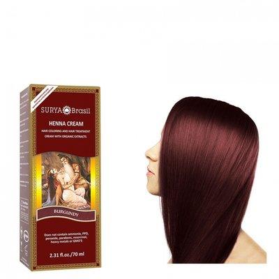 Surya Brasil - Henna Haarkleuring:  Cream Burgundy