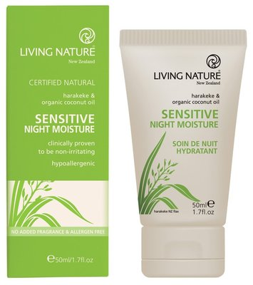 Living Nature - Sensitive Night Moisture Cream