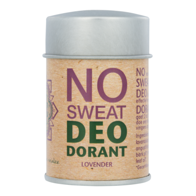 The Ohm Collection - DEOdorant Poeder No Sweat: Lovender