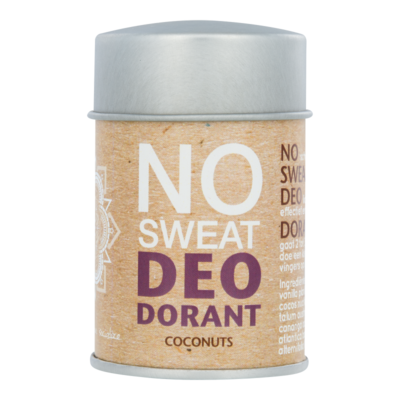 The Ohm Collection - DEOdorant Poeder No Sweat Coconuts