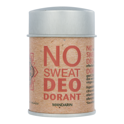The Ohm Collection - DEOdorant Poeder No Sweat: Mandarine