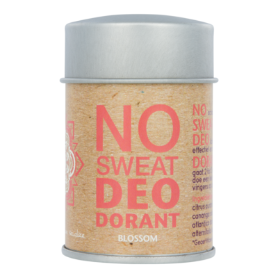 The Ohm Collection - DEOdorant Poeder No Sweat: Blossom