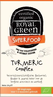 Royal Green - Turmeric Complex