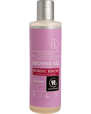 Urtekram - Douchegel Nordic Birch 250 ml