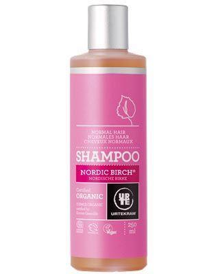 Urtekram - Shampoo Nordic Birch Voor Normaal Haar 250 ml (tht: 03-2020)