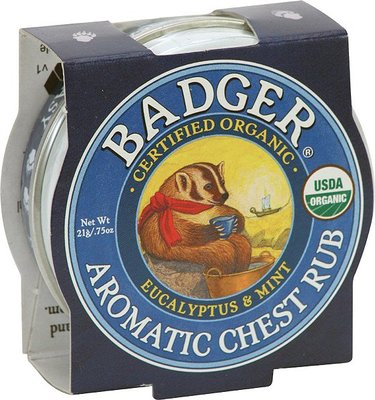 Badger - Aromatic Chest Rub (Vrij Ademen Balsem)