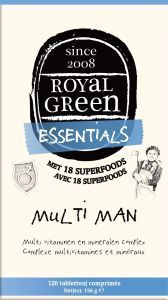 Royal Green - Multi Man 120 tabletten