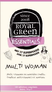 Royal Green - Multi Woman 120 tabletten