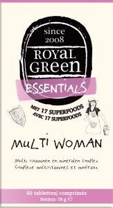 Royal Green - Multi Woman 60 tabletten