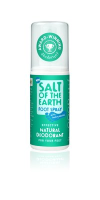 Salt Of The Earth - Natural Foot Spray Menthol