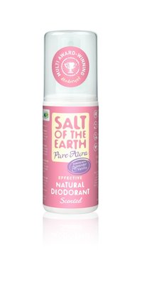 Salt Of The Earth - Pure Aura Scented Natural Deodorant Spray 100 ml