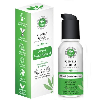 PHB Ethical Beauty - Gentle Serum: Aloe & Sweet Almond