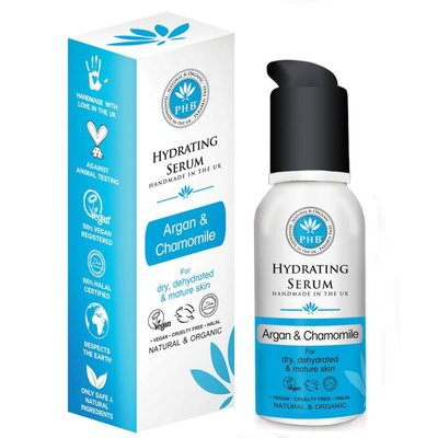PHB Ethical Beauty - Hydrating Serum: Argan & Chamomile