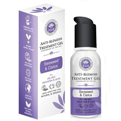 PHB Ethical Beauty - Anti-Blemish Treatment Gel: Seaweed & Cistus