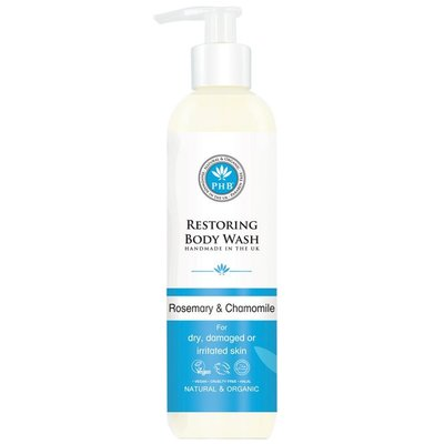 PHB Ethical Beauty - Restoring Body Wash: Rosemary & Chamomile