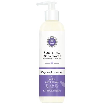 PHB Ethical Beauty - Soothing Body Wash: Organic Lavender