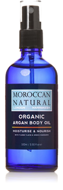 Moroccan Natural - Organic Argan Body Oil 10 ml
