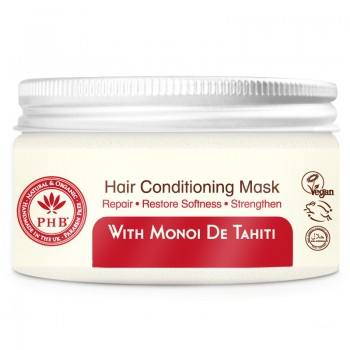 PHB Ethical Beauty - Conditioning Hair Mask: With Monoi de Tahiti