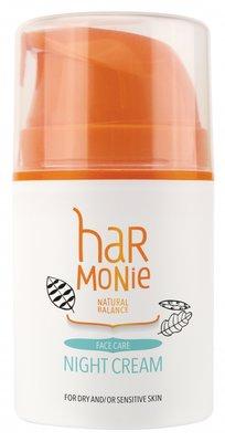 Harmonie - Nachtcrème Droge en/of Gevoelige Huid 50 ml