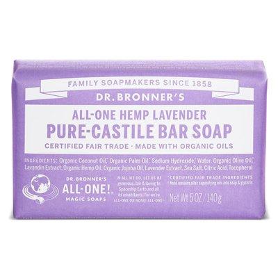 Dr. Bronner's - Pure Castile Soap Bar: Lavender