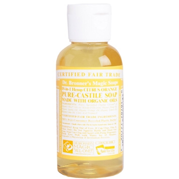 Dr. Bronner's - Magic Pure Castile Soap: Citrus 59 ml, 240 ml, 475 ml of 945 ml Vanaf: