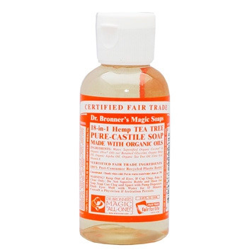 Dr. Bronner's - Magic Pure Castile Soap: Tea Tree 59 ml, 240 ml, 475 ml of 945 ml Vanaf: