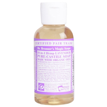 Dr. Bronner's - Magic Pure Castile Soap: Lavendel 59 ml, 240 ml, 475 ml of 945 ml Vanaf: