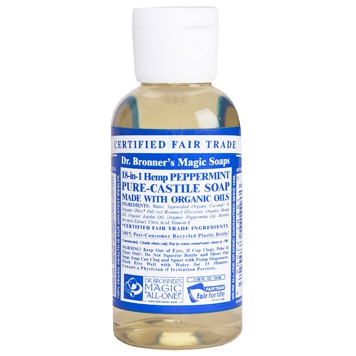 Dr. Bronner's - Magic Pure Castile Soap: Pepermunt 59 ml, 240 ml, 475 ml of 945 ml Vanaf: